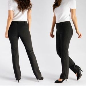 Betabrand Straight Leg Ponte Knit Yoga Pants M